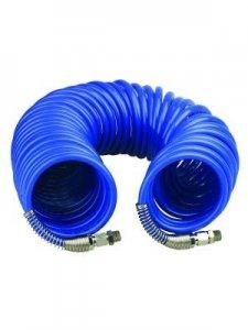 10m Spiral hose with quick couplings