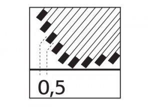 BU028-5 przekrój
